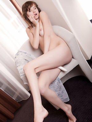 Kitana A pleasures her tight pussy
